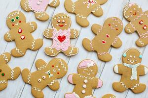 Christmas Gingerbread Man Photo By Jill Wellington From Pexels